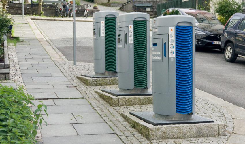 Avfallssug - Avfallshåndtering i Bergen