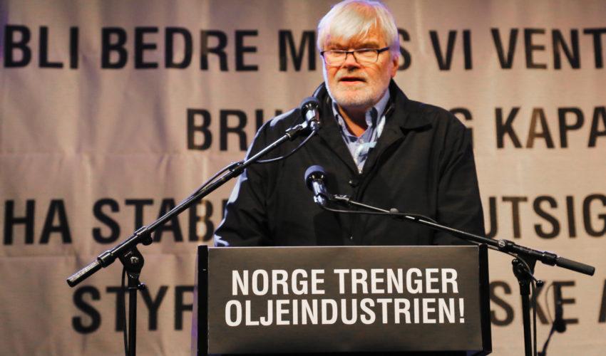 Norge trenger oljeindustrien!