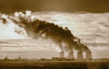Kolkraftverk i Midlands, England.