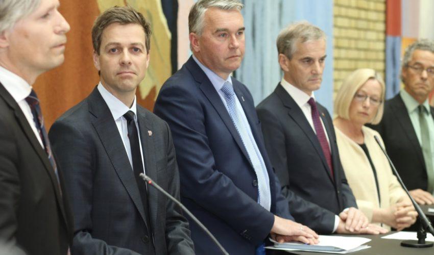f674ec6b Klart for Støre som Statsminister på tirsdag. Hareide kan ikke la seg  ydmyke gang på gang.